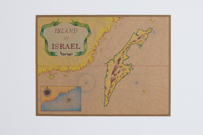 Map of Israel Island 3