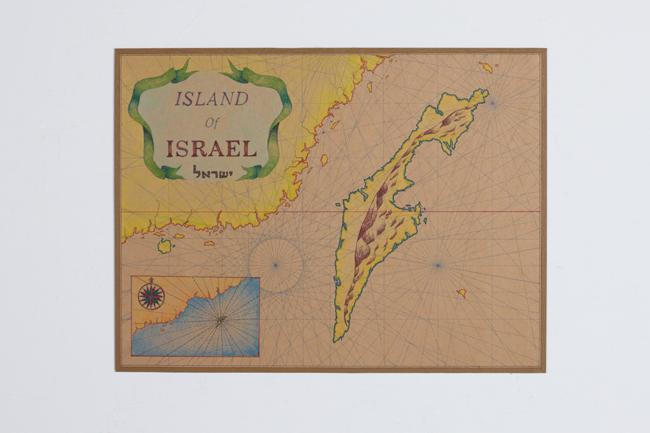 Map of Israel Island 3